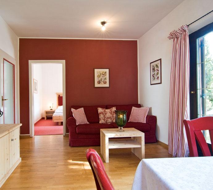 Elisabeth - Bungalow appartamenti vacanze a Lagundo Pünthof