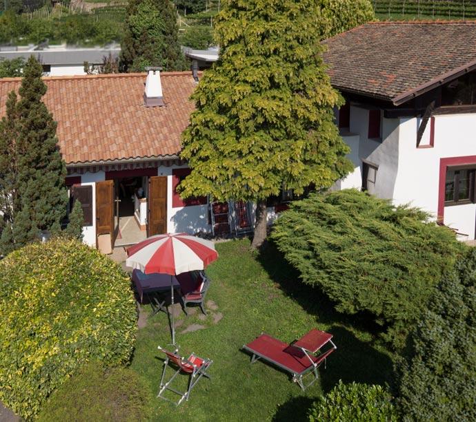 Margarethe - Bungalow appartamenti vacanze a Lagundo Pünthof