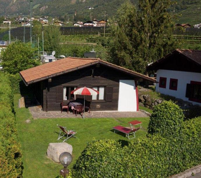 Maria Theresia - Bungalow appartamenti vacanze a Lagundo Pünthof