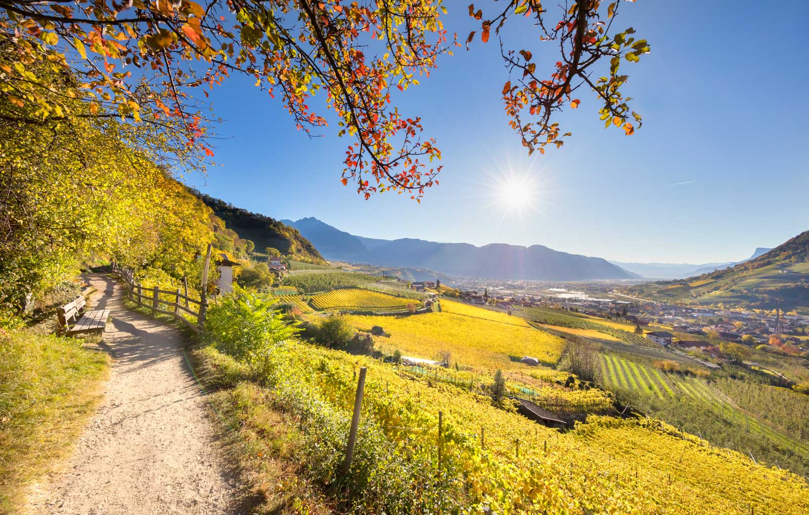Wandern in Südtirol - Pünthof
